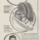 """1953 Norelco Ad """"For Chin-Caressing shaves"""""""