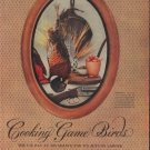 "1953 Thomas Yee Game Bird Photos Article ""Cooking Game Birds"""
