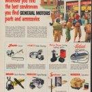 "1953 General Motors Ad ""the best servicemen"""