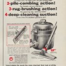 """1953 Lewyt Ad """"4-Way rug cleaning"""""""