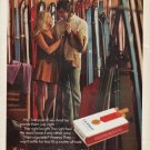 """1971 Viceroy Cigarettes Ad """"Her first pair of skis"""""""