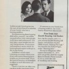 "1971 Zenith Hearing Aid Ad ""Getting Through"""