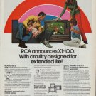 """1971 RCA Ad """"RCA announces XL-100"""""""