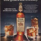 "1971 Four Roses Whiskey Ad ""The newest taste"""