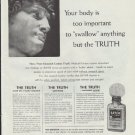 """1957 Bayer Aspirin Ad """"Your body is too important"""""""