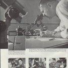 """1957 General Motors Ad """"a tiny drill"""""""