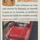 "1957 Simoniz Ad ""smooth!"""