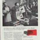 """1957 Dictaphone Ad """"Get facts down cold"""""""