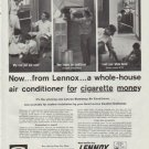 """1957 Lennox Ad """"a whole-house air conditioner"""""""