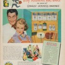 """1952 Stanley Home Products Ad """"Why husbands love wives"""""""