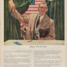 """1952 John Hancock Ad """"Today, I'm the boss"""""""