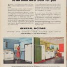 """1952 General Motors Ad """"We engineer Heat and Cold"""""""