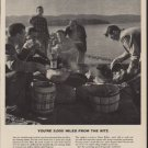 """1952 Imperial Whiskey Ad """"You're 3,000 Miles From The Ritz"""""""