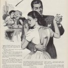 """1951 Listerine Ad """"He's Hanging Himself Right Now"""""""