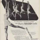 "1951 Playtex Ad ""Cheers"""