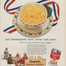 "1951 Campbell's Ad ""Six Generations"""