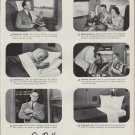 """1951 Pullman Train Cars Ad """"Anybody here you know?"""""""