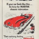"1951 Texaco Ad ""it's time for MARFAK"""