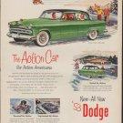 "1953 Dodge Ad ""Coronet -- Model Year 1953"""