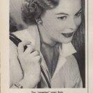 """1953 Halo Shampoo Ad """"Soaping"""""""