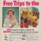 "1953 Nescafe Ad ""Free Trips"""