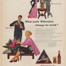 """1953 Blatz Beer Ad """"Other times"""""""