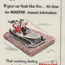 "1953 Texaco Ad ""it's time for MARFAK"""