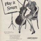 "1953 Sanforized Ad ""Play it Smart"""