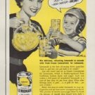 """1953 Lemon Products Advisory Board Ad """"Pitcher of Health"""""""