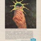 "1963 Union Carbide Ad ""Instant portable power"""
