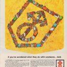 "1963 Central Soya Ad ""soybeans"""