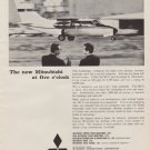 "1963 Mitsubishi Ad ""The new Mitsubishi at five o' clock"""