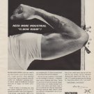 """1963 Southern Railway System Ad """"Elbow Room"""""""
