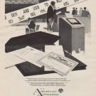 """1963 The American Appraisal Company Ad """"The financial man"""""""