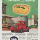 "1948 White Trucks Ad ""Everywhere ... Every day"""