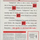 "1948 Metropolitan Life Insurance Company Ad ""Indigestion"""