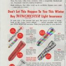 """1948 Winchester Ad """"Miles From Nowhere"""""""