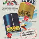 """1948 Du Pont Ad """"caught in a squeeze"""""""