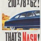 "1948 Nash Ad ""model year 1949"""