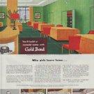 "1948 Gold Bond Ad ""remodel better"""
