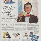 "1948 Chase & Sanborn Ad ""New Coffee Flavor"""