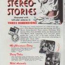 """1948 View-Master Ad """"To Thrill Any Child"""""""