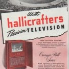 """1948 Hallicrafters Ad """"On Top"""""""