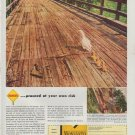 """1948 Monsanto Ad """"proceed at your own risk"""""""