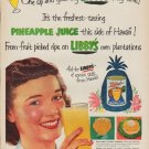 "1952 Libby's Ad ""One sip"""