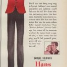 """1952 Hans Christian Andersen Ad """"When you're in love"""""""