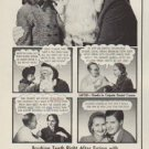 """1952 Colgate Ad """"The Man She Wants"""""""