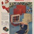 "1952 Samsonite Ad ""Take a tip"""
