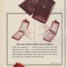 "1952 Buxton Billfolds Ad ""Flickbar"""