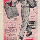 """1952 Dickies Ad """"Good Looks"""""""